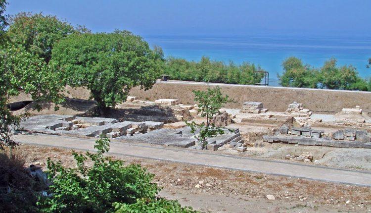 Ammon Zeus Temple Kallithea Halkidiki